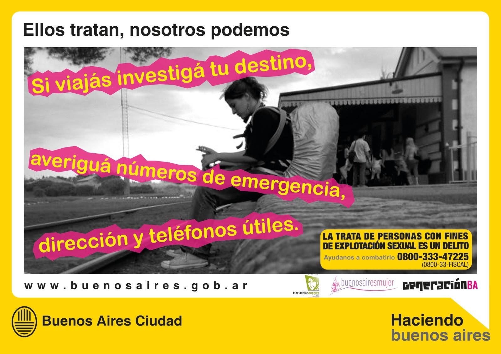 La Ciudad se suma a la lucha internacional contra la trata de personas