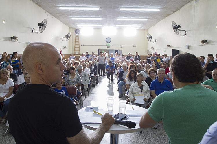 Este sábado el jefe de Gobierno visita la Comuna 10