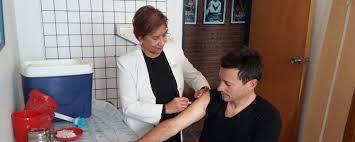 Llegó el frío y arrancó la campaña de Vacunación Antigripal 2017