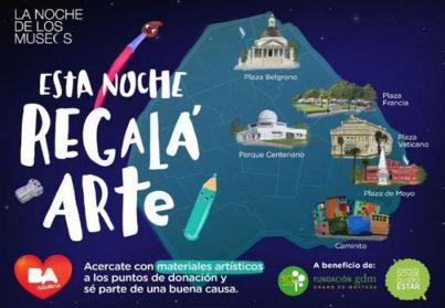 Una noche para visitar museos y ser solidario