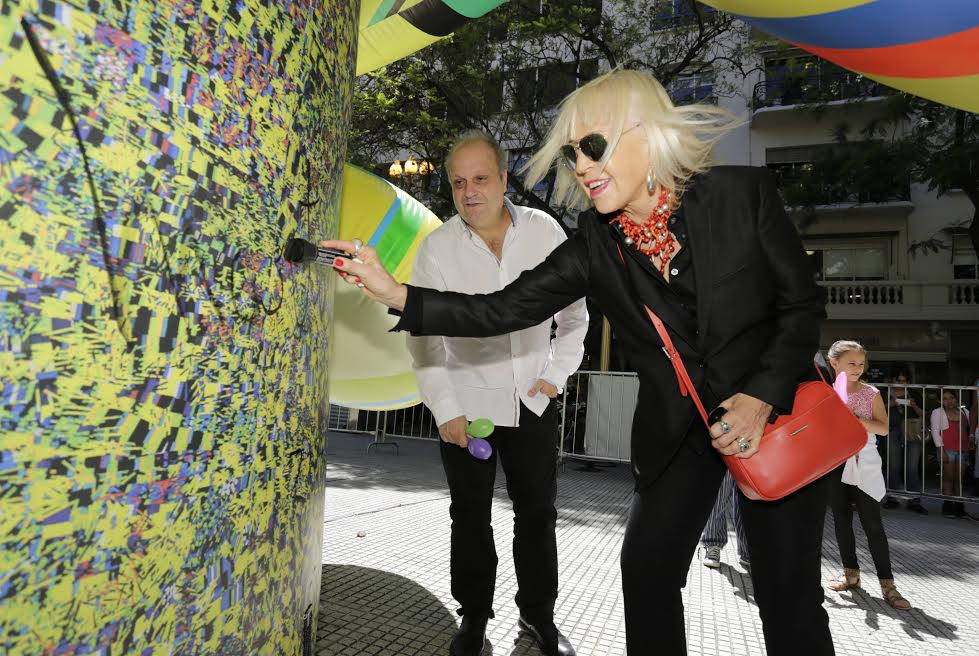 Inauguran el circuito cultural de la calle Florida