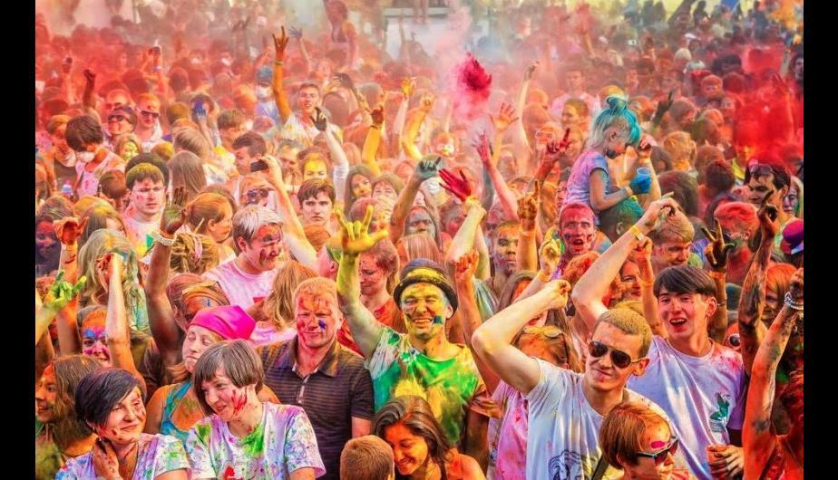 Un festival para llenarse de colores