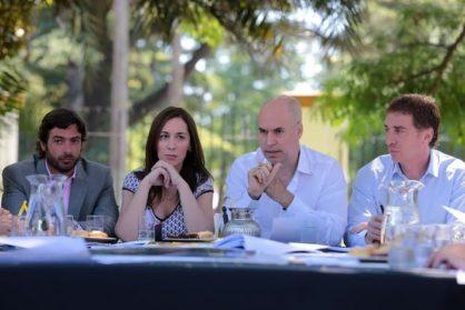 Rodriguez Larreta y Vidal encabezaron la primera reunión de gabinete metropolitano