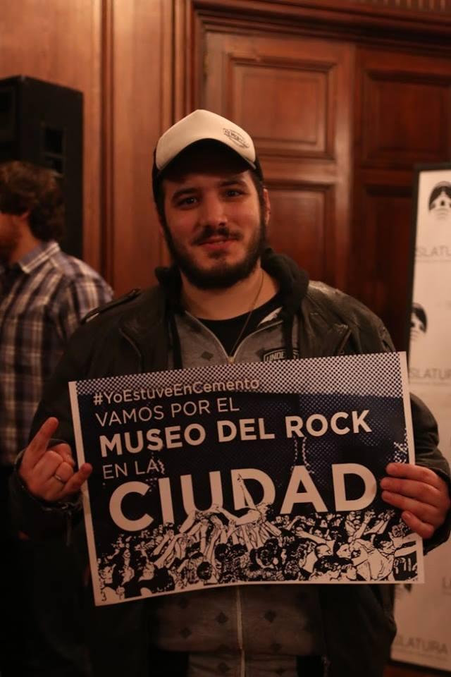 """""""La idea de convertir a Cemento en un Museo del Rock es muy interesante"""""""
