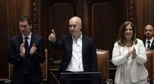 Salvo la izquierda, la oposición se mostró conforme con el discurso de Rodríguez Larreta