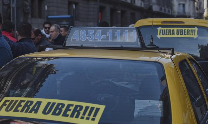 La Legislatura manifestó su repudio hacia Uber