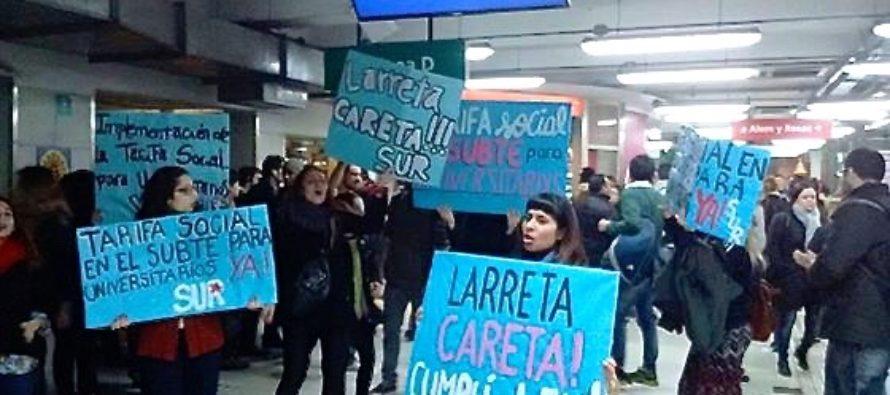La justicia porteña avaló la tarifa social del subte para estudiantes universitarios