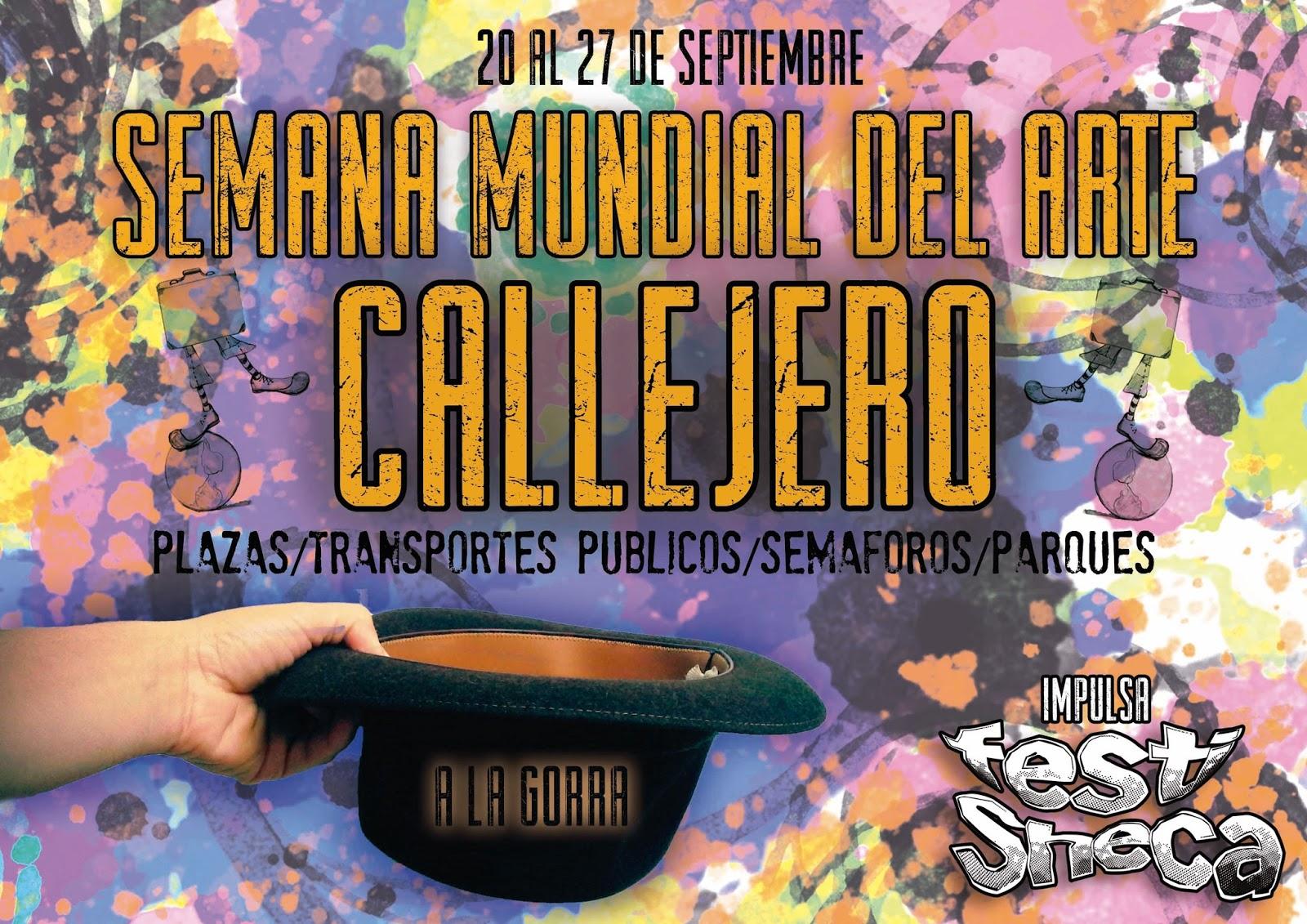 Arranca la Semana Mundial del Arte Callejero