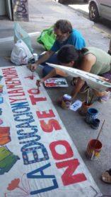 Mural de Orletti: La cultura se defiende con más cultura
