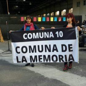 """Proponen que la 10 sea la """"Comuna de la Memoria"""""""