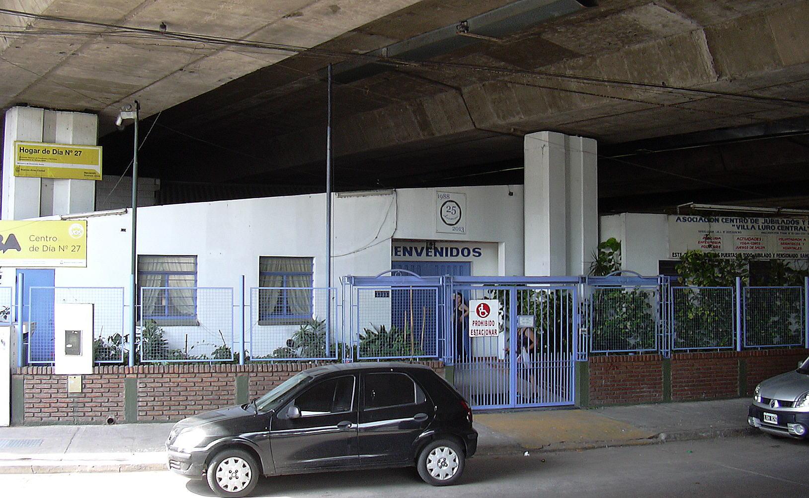 Peligra el Centro de Jubilados y Pensionados Villa Luro Central
