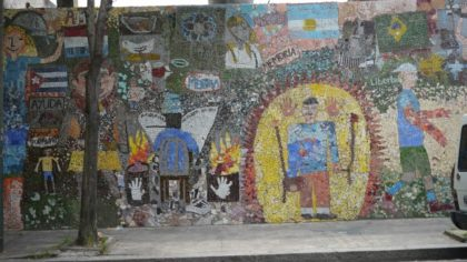 Peligra el mural de Automotores Orletti y buscan declararlo Patrimonio cultural
