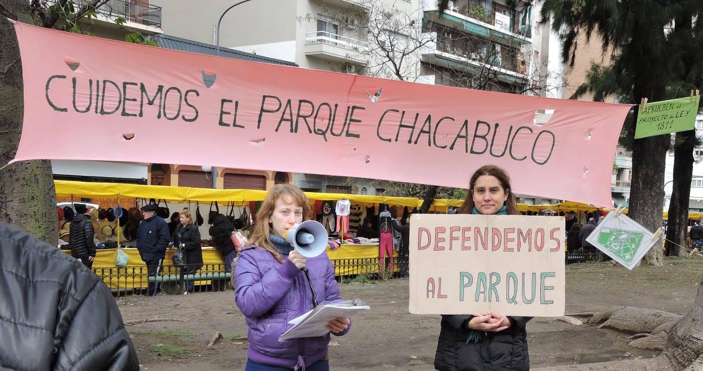 Arrancó la Campaña en defensa del Parque Chacabuco