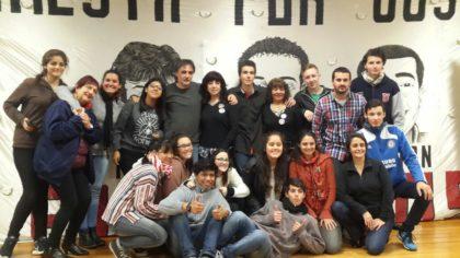 Estudiantes del Colegio Urquiza presentaron un documental sobre La masacre de Floresta