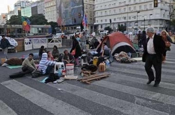 Este año hubo un 20% más de piquetes y protestas en la Ciudad