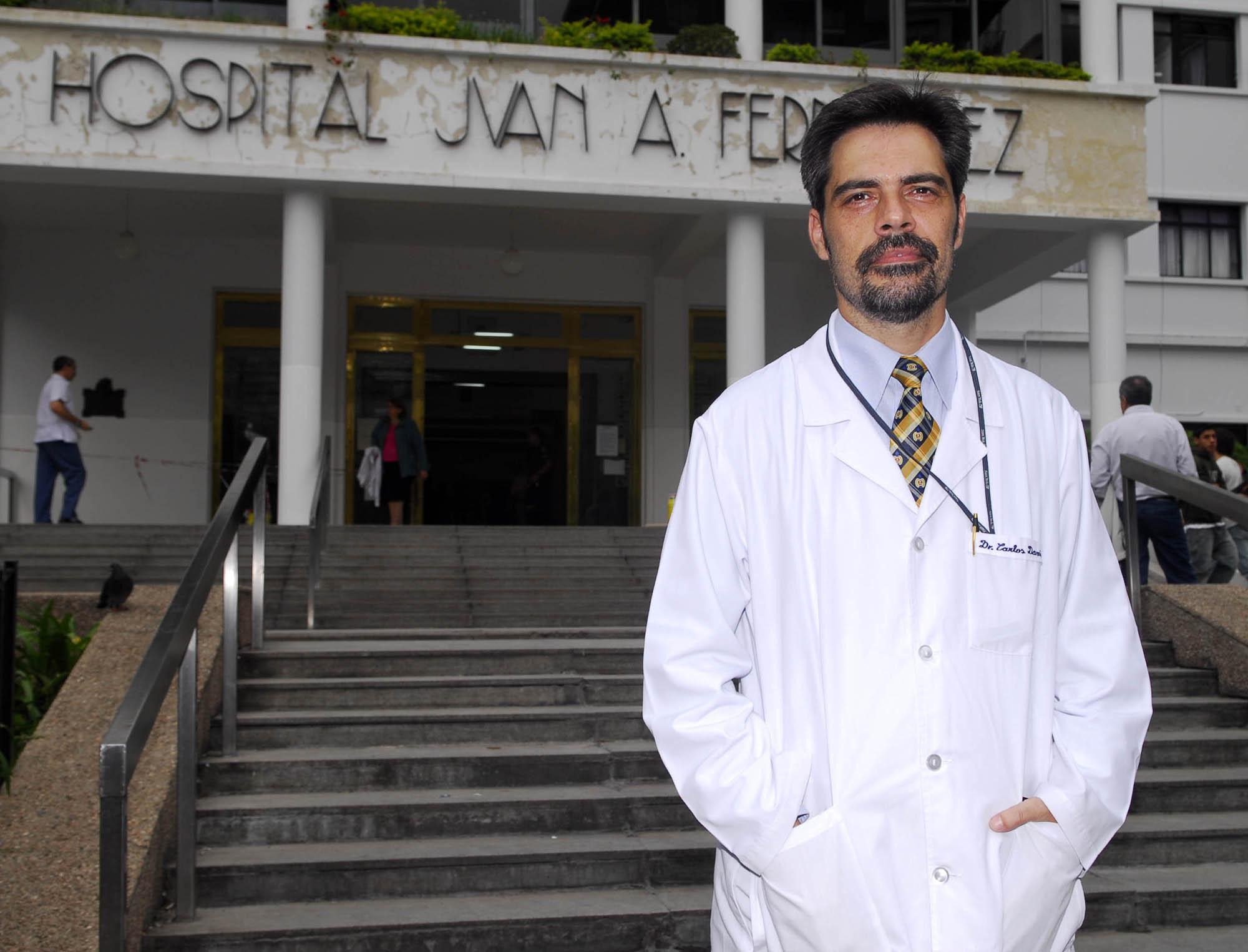 Una obra fantasma en el Hospital Fernández