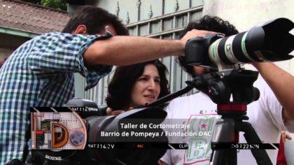 Taller de cine en la Comuna: El Barrio filma su historia