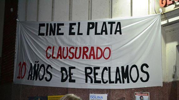 Los vecinos de Mataderos serán litigantes en la causa judicial para que reabra el Cine El Plata