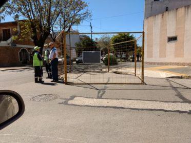 Pese al fuerte rechazo de los vecinos, comenzaron las obras para implementar la primera Área 30 de la Ciudad