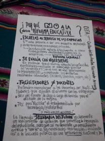 Toman la escuela Fernando Arranz en rechazo a la reforma educativa