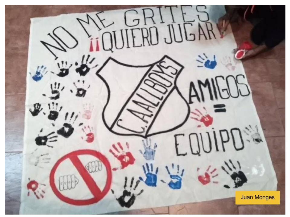 """El programa """"No a la Violencia en el Fútbol Infantil"""" de la Comuna 10 será distinguido por la Legislatura"""