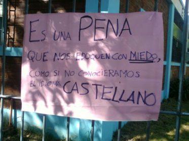 Denuncian persecución política a estudiantes en la Escuela Técnica 27