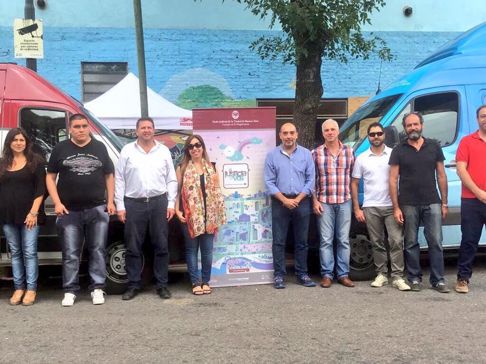 La Justicia de la Ciudad se acerca a Floresta para difundir derechos y facilitar el DNI