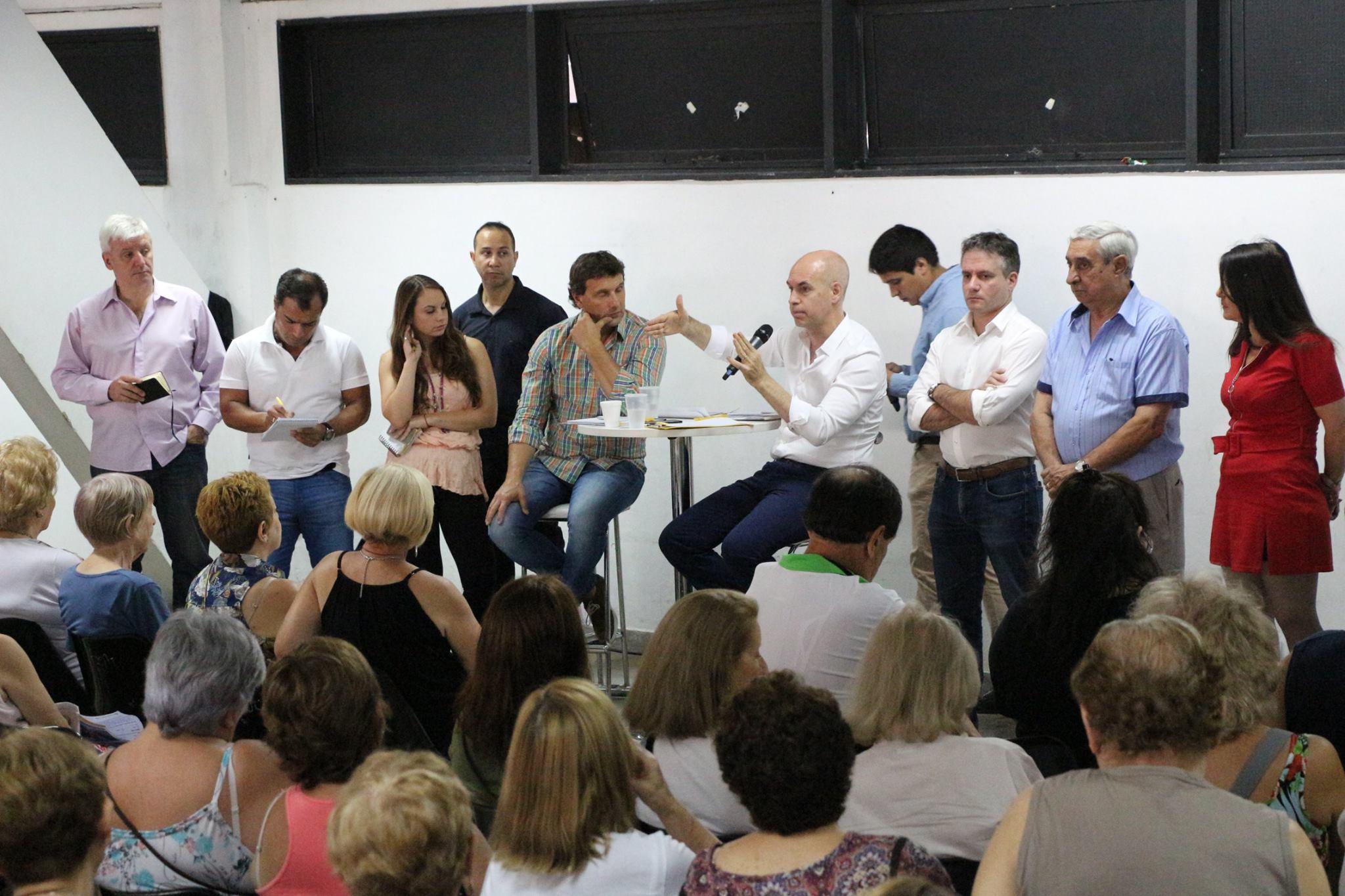 En un año muy conflictivo para el barrio, Rodríguez Larreta visita nuevamente Villa Real