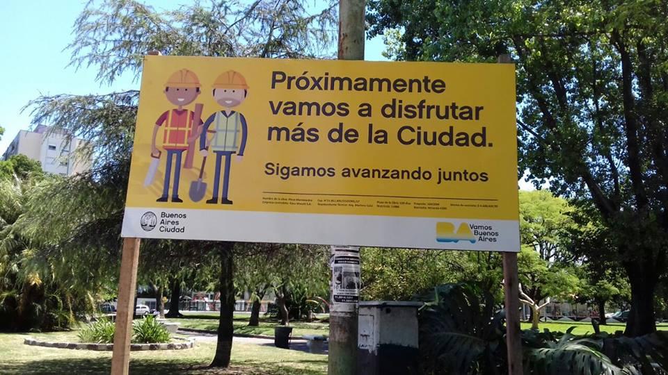La Comuna desmintió que vayan a enrejar la Plaza Monte Castro