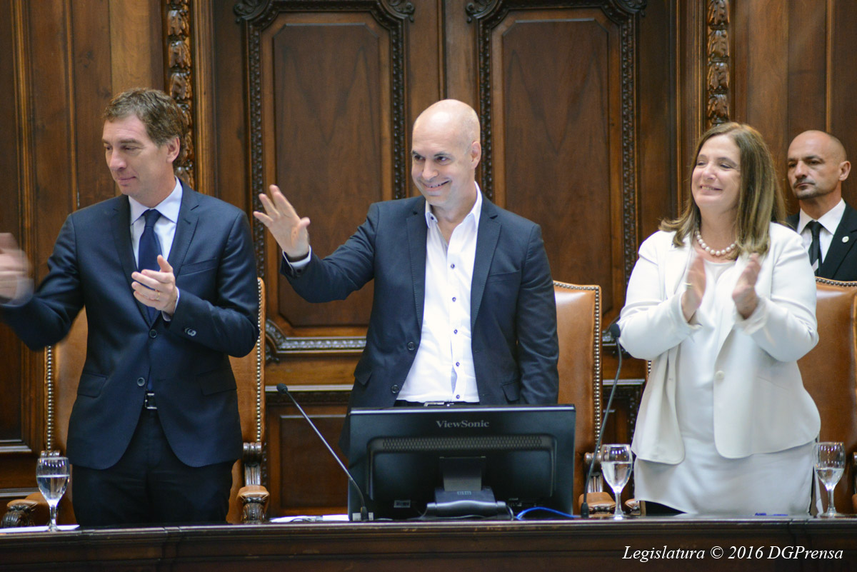Larreta inaugura las sesiones legislativas y convocó a los vecinos a participar en la ceremonia