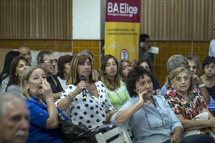 Presentan la nueva edición del BA Elige en Floresta
