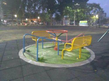 El Consejo Consultivo había advertido sobre el mal estado de los juegos de la Plaza Banff