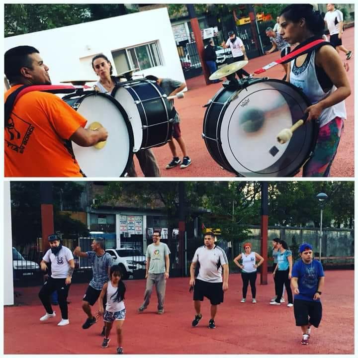 Taller de Murga en el ex Olimpo: En Floresta todo el año es carnaval