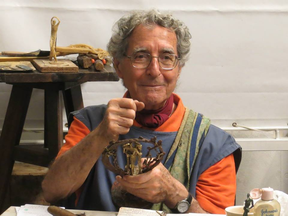 Floresta despidió al escultor Antonio Pujía