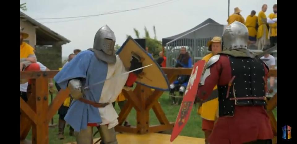 El Club Social y Deportivo Newbery participa del mundial de Combate Medieval en Italia