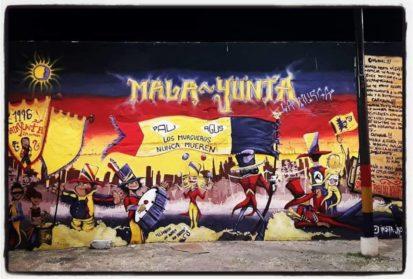 Un merecido reconocimiento a un mural y a sus protagonistas