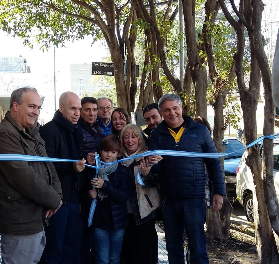 Inauguraron la puesta en Valor del Centro comercial de Álvarez Jonte