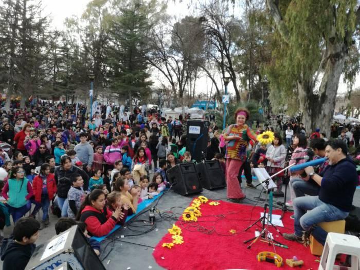 El Día del Niño se festeja a lo grande en la Comuna 10
