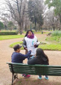 La Defensoría se acerca a Parque Avellaneda | Una visita para fortalecer los derechos ciudadanos