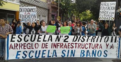 Cooperadoras de la Comuna 10 exigen un relevamiento del estado de infraestructura en las escuelas de la Ciudad