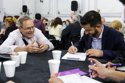 Más de cien vecinos de Flores debatieron iniciativas para su barrio