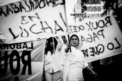Villa Luro de pie | Los trabajadores del Laboratorio Roux pelean por volver a producir bajo autogestión