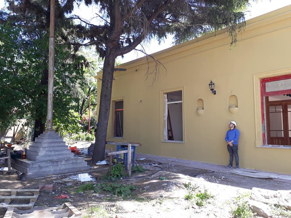 En Floresta la lucha da sus frutos   La Plaza Cultural del Corralón, cada vez más cerca de su inauguración