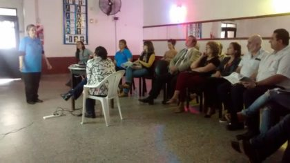 El Observatorio de Higiene Urbana realizó un taller sobre gestión ambiental de los residuos para organizaciones de la Comuna 10