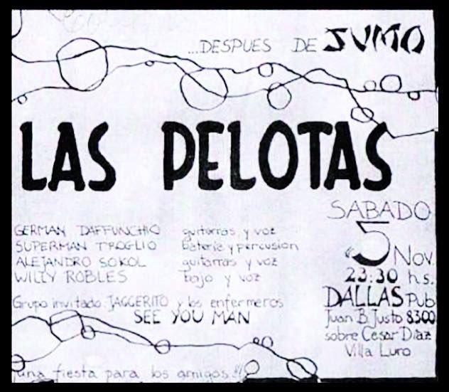 Villa Luro, el barrio donde arrancó Las Pelotas | Hace 30 años, la banda daba su primer show