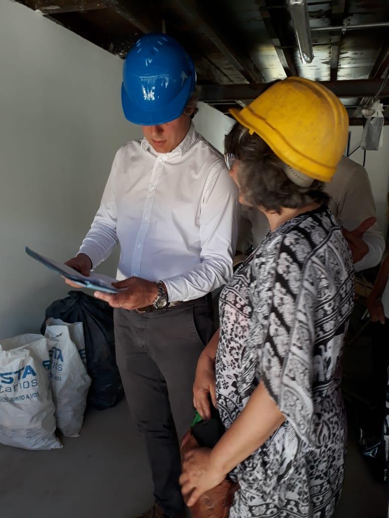 Integrantes del CCC 10 le entregaron una nota al jefe de Gabinete para garantizar la participación barrial en la futura Plaza del Corralón
