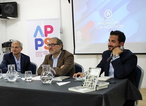 Junto a Tombolini, Jorge Argüello presentó su nuevo libro sobre el G20