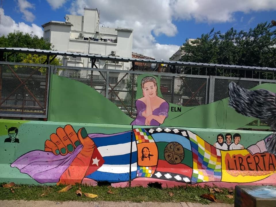 Arte y compromiso en Floresta   El Sitio de Memoria Automotores Orletti tiene un nuevo Mural