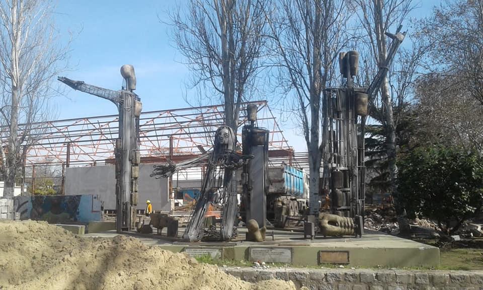 La Plaza del Corralón todavía no tiene fecha de inauguración y la Asamblea de Floresta expresó sus preocupaciones