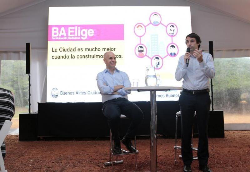 Comenzó la tercera edición del BA Elige, la plataforma de participación online del gobierno porteño